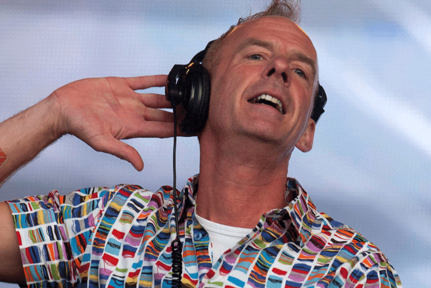Norman Cook AKA Fatboy Slim During A DJ Set In Brighton